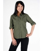 Ladies Military L/S shirts